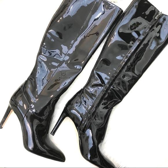 7d42476e66e NIB Sam Edelman Olencia Boots Black Patent Leather